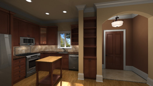 3D Interior Rendering by preVision 3D