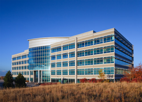 Exterior commercial building architectural photography
