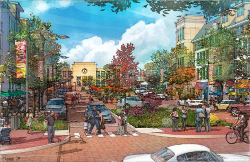 downtown redevelopment proposal, Millville, NJ - WRT