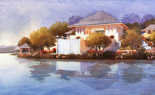 Michael Reardon Architectural Illustration - Image 10