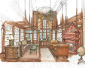 Anne Cooper Interiors - Residential Library