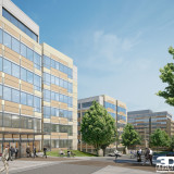 Exterior Rendering of Talus Office Complex