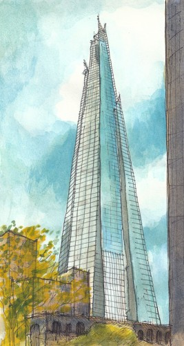 the Shard; published in the 28th June 2012 edition of the Architects Journal