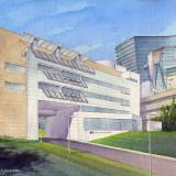 Casey Eye Institute, OHSU, Richard Meier Architect