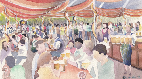 Prospect Park Festival-Beer / Wine tent for Superfly Productions
