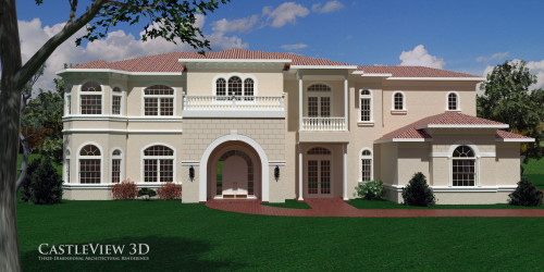 3D Rendering: Custom home