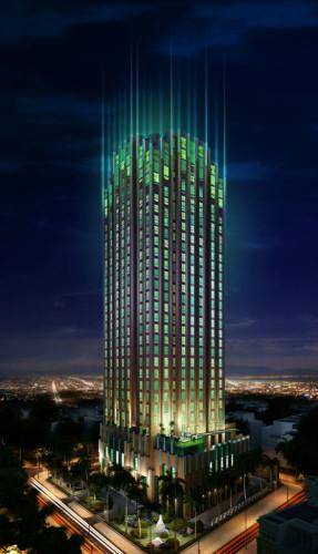 49263D kien truc   3D animation on Emerald building at Vietnam