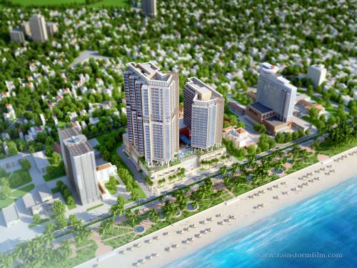 TheCosta_1024x768_23D kien truc   3D animation on new 5 star hotel at Vietnam