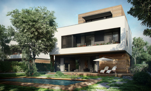 AMBER GARDENS passive housing complex