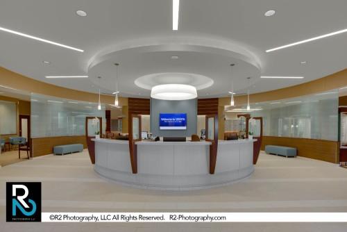 Medical Reception Desk