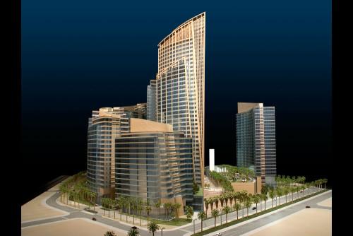 Barwa financial district - Qatar scale 1/150