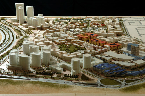 westown Cairo - Egypt Scale 1/500