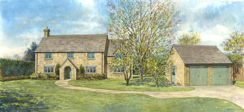 Proposed cottage