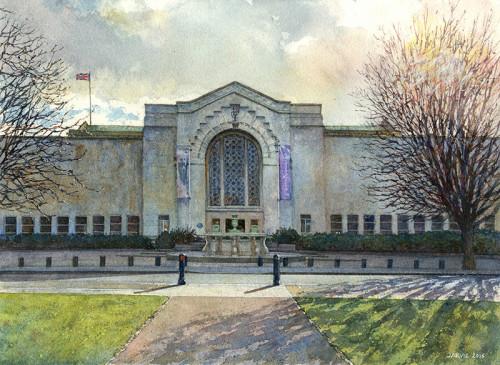 Southampton City Art Gallery Entrance